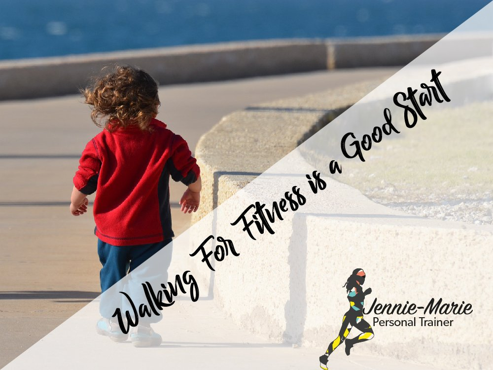 Walking is a Good Start for Fitness and Weight Loss.